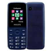 """(1021604) Мобильный телефон Philips Xenium E125 синий 2Sim 1.77"""" TFT 128x160 0.1Mpix"""