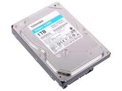 "(1021601) Жесткий диск Toshiba SATA-III 1Tb HDWU110UZSVA Video Streaming V300 (5700rpm) 64Mb 3.5"""