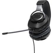 (1021675) Наушники JBL Проводная игровая гарнитура с накладными наушниками и съемным микрофоном Quantum 100