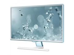 "(1021685) Монитор Samsung 23.6"" S24E391HL белый PLS LED 4ms 16:9 HDMI матовая 250cd 178гр/178гр 1920x1080 D-Sub FHD 4.02кг"