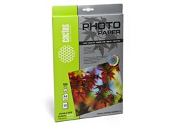 (1021712) Фотобумага двусторонняя Cactus CS-GMA418020 A4/180г/м2/20л./белый глянцевое/матовое для струйной печати