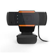 (1021721) WEB камера NNC ONLENY72, 720P, микрофон, чёрно-оранжевая, универсальное крепление, RET