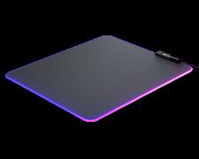 (1021795) Игровой коврик для мыши Cougar NEON (черный, RGB подсветка, USB 2.0, 350 x 270 x 4 мм, резина, ткань)