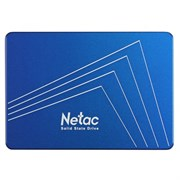 "(1021777) Твердотельный накопитель SSD 2.5"" Netac 1.0Tb N600S Series <NT01N600S-001T-S3X> Retail (SATA3, up to 560/520MBs, 3D TLC, 7mm)"