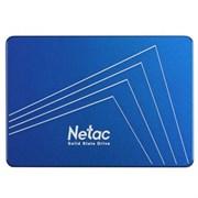 "(1021775) Твердотельный накопитель SSD 2.5"" Netac 128Gb N600S Series <NT01N600S-128G-S3X> Retail (SATA3, up to 510/440MBs, 3D TLC, 7mm)"