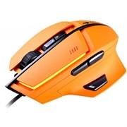 (1021764) Игровая мышь Cougar 600M orange лазерная, проводная, 8 кнопок, подсветка, 8200 dpi, USB, цвет: оранжевый