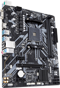 (1021916) Материнская плата Gigabyte B450M H Soc-AM4 AMD B450 2xDDR4 mATX AC`97 8ch(7.1) GbLAN RAID+VGA+HDMI