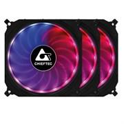 (1021957) Вентилятор Chieftec Case cooler Chieftec CF-3012-RGB 3 pcs in box, RGB, 120mm