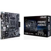 (1021950) Материнская плата Asus PRIME A320M-E Soc-AM4 AMD A320 2xDDR4 mATX AC`97 8ch(7.1) GbLAN RAID+VGA+DVI+HDMI