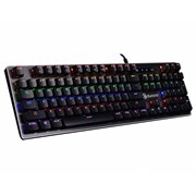 (1021976) Клавиатура A4 Bloody B760 механическая серый/оранжевый USB for gamer LED