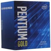 (1021975) Процессор Intel Original Pentium Gold G5420 Soc-1151v2 (BX80684G5420 S R3XA) (3.8GHz/iUHDG610) Box