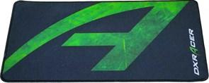 (1022003) Игровой коврик для мыши DXRacer чёрно-зелёный (470 x 280 x 3 мм, ткань, каучук, MP/93/NE)