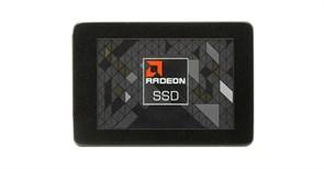 """(1021981) Твердотельный накопитель SSD 2.5"""" AMD 240GB Radeon R5 <R5SL240G> (SATA3, up to 520/420MBs, 3D TLC, 7mm)"""