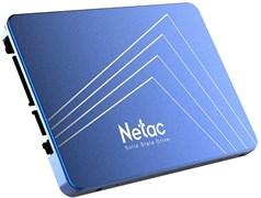 "(1021982) Твердотельный накопитель SSD 2.5"" Netac 256Gb N600S Series <NT01N600S-256G-S3X> Retail (SATA3, up to 540/490MBs, 3D TLC, 7mm)"