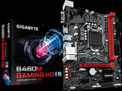 (1022050) Материнская плата Gigabyte B460M GAMING HD Soc-1200 Intel B460 2xDDR4 mATX AC`97 8ch(7.1) GbLAN RAID