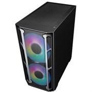 (1022046) Корпус Formula V-LINE W03M черный без БП ATX 6x120mm 5x140mm 2xUSB2.0 2xUSB3.0 audio bott PSU