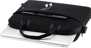 """(1021821) Сумка для ноутбука 15.6"""" Hama Sydney черный/синий полиэстер (00101931)"""