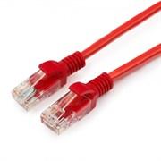 (1022256) Патч-корд UTP Cablexpert кат.5e, 5м, литой, многожильный (красный)