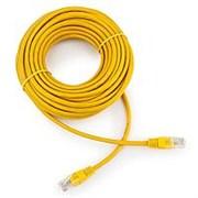 (1022252) Патч-корд UTP Cablexpert кат.5e, 3м, литой, многожильный (жёлтый)