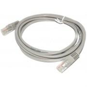 (1022238) Патч-корд UTP Cablexpert кат.5e, 1.5м, литой, многожильный (серый)