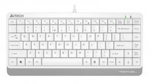 (1022264) Клавиатура A4 Fstyler FK11 белый USB slim