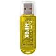 (1022289) USB флэш-накопитель  16 ГБ  Mirex ELF YELLOW  16GB