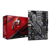 (1022360) Материнская плата Asrock Z490 PHANTOM GAMING 4 Soc-1200 Intel Z490 4xDDR4 ATX AC`97 8ch(7.1) GbLAN RAID+HDMI