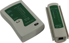 (1022356) Exegate EX271121RUS Тестер сетевой LT-007 (NS-468) для RJ-45/RJ-11/RJ-12