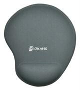 (1022347) Коврик для мыши Oklick OK-RG0550-GR серый 220x195x20мм