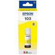 (1022502) Чернила Epson 103Y C13T00S44A желтый (65мл) для Epson L3100/3110/3150