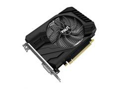 (1020088) Видеокарта Palit PCI-E PA-GTX1650 SUPER STORMX 4G NV GTX1650SUPER 4096Mb 128b GDDR6 1530/12000 DVIx1