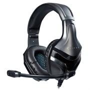 (1022536) Наушники с микрофоном Oklick HS-L370G ECLIPSE черный 1.9м мониторные (HS-L370G)