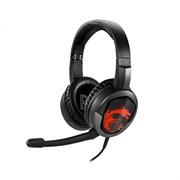 (1022535) Наушники с микрофоном MSI Immerse GH30 черный 1.5м накладные (S37-2101000-SV1)