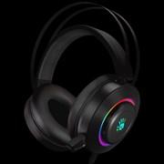 (1022530) Наушники с микрофоном A4 Bloody G521 черный 2.3м мониторные USB (G521 (BLACK))