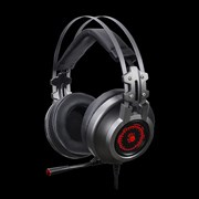 (1022533) Наушники с микрофоном A4 Bloody J527 серый 2м мониторные USB (J527)