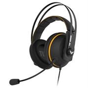 (1022606) Игровая беспроводная гарнитура ASUS TUF Gaming H7 чёрно-серая (2.4GHz, 7.1 виртуально, 53 мм, неодимовые магниты, 32 Ом, 20~20000 Гц, микрофон, USB, PC, Mac, PS4, Nintendo Switch, Xbox One, 90YH020G-B3UA00)