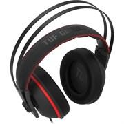 (1022605) Игровые наушники ASUS TUF Gaming H7 Core чёрно-красные (53 мм, неодимовые магниты, 32 Ом, 20~20000 Гц, микрофон, USB, PC, Mac, PS4, Nintendo Switch, Xbox One, 90YH01QR-B1UA00)