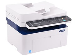 (1022566) МФУ лазерный Xerox WorkCentre WC3025NI (3025V_NI) A4 Net WiFi белый/синий