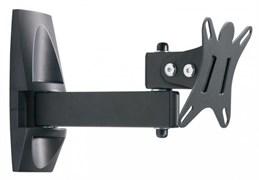 "(1022647) Кронштейн для телевизора Holder LCDS-5004 металлик 10""-26"" макс.25кг настенный поворот и наклон"