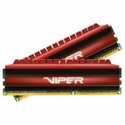 (1022664) Модуль памяти DDR 4 DIMM 32Gb (16GBx2) PC24000, 3000Mhz, PATRIOT Viper 4 Dual Kit (PV432G300C6K) (retail)
