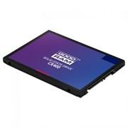 "(1022663) Твердотельный накопитель SSD 2.5"" Goodram 256Gb CX400 <SSDPR-CX400-256-G2> (SATA3, up to 550/490MBs, 85000IOPs, 3D TLC, 7mm)"