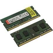 (1022662) Модуль памяти Kingston KVR16LS11K2/8 SO-DIMM DDR 3 DIMM 8Gb PC12800, 1600Mhz, 1.35V, (Kit of 2) (retail)