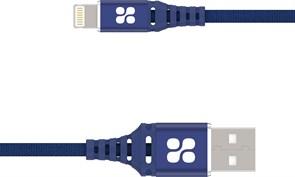 (1022728) Кабель USB Lightning MFI Promate NerveLink-i2 (2m) blue