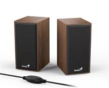 (1022827) Колонки Genius SP-HF180, 2.0, 2 x 3W, USB-power, Wood