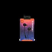 (1022809) Наушники JBL Проводная внутриканальная гарнитура с ползунковым регулятором громкости и кнопкой выключения микрофона JBL Quantum 50 черная