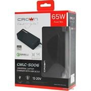 (1019646) Универсальное зарядное устройство CROWN CMLC-5006 (14 коннекторов, 65W, USB QC 3.0)