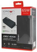 (1019647) Универсальное зарядное устройство CROWN CMLC-6006 (19 коннекторов, 65W, USB QC 3.0)