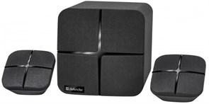 (1022846) Акустическая система DEFENDER X190 2.1 Мощность звука 18 Вт да Bluetooth Цвет черный 2.7 кг 65183