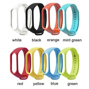 (1023133) Ремешок Xiaomi Mi Smart Band 5 Strap (3-Pack) Navy Blue/Yellow/Mint Green