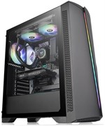 (1023005) Корпус Thermaltake H350 TG RGB черный без БП ATX 5x120mm 4x140mm 1x200mm 2xUSB2.0 1xUSB3.0 audio bott PSU (CA-1R9-00M1WN-00)